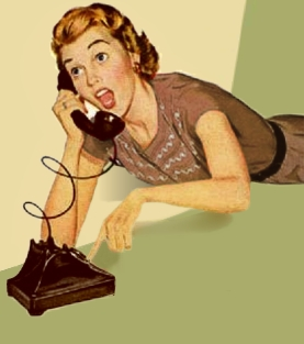 jeune femme au téléphone